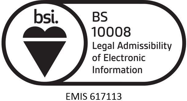 BS10008:2014 standard